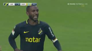 AIK 1 - 0 Hammarby IF 2018-09-23 - Henoks mål