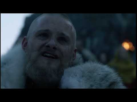 La Mort de Lagartha dans Vikings