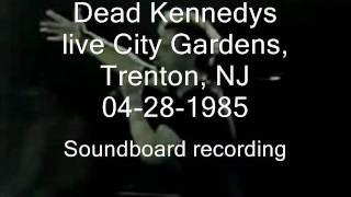 "Dead Kennedys ""Jock-o-Rama"" live City Gardens, Trenton, NJ 04-28-1985 (SBD)"