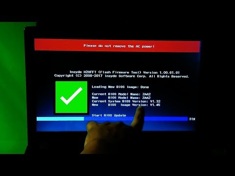 How To Update Your BIOS Firmware Update On Laptop (Windows)