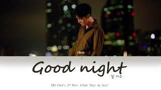 Vietsub/han/rom ] chen - good night ( 첸 잘 자요 )