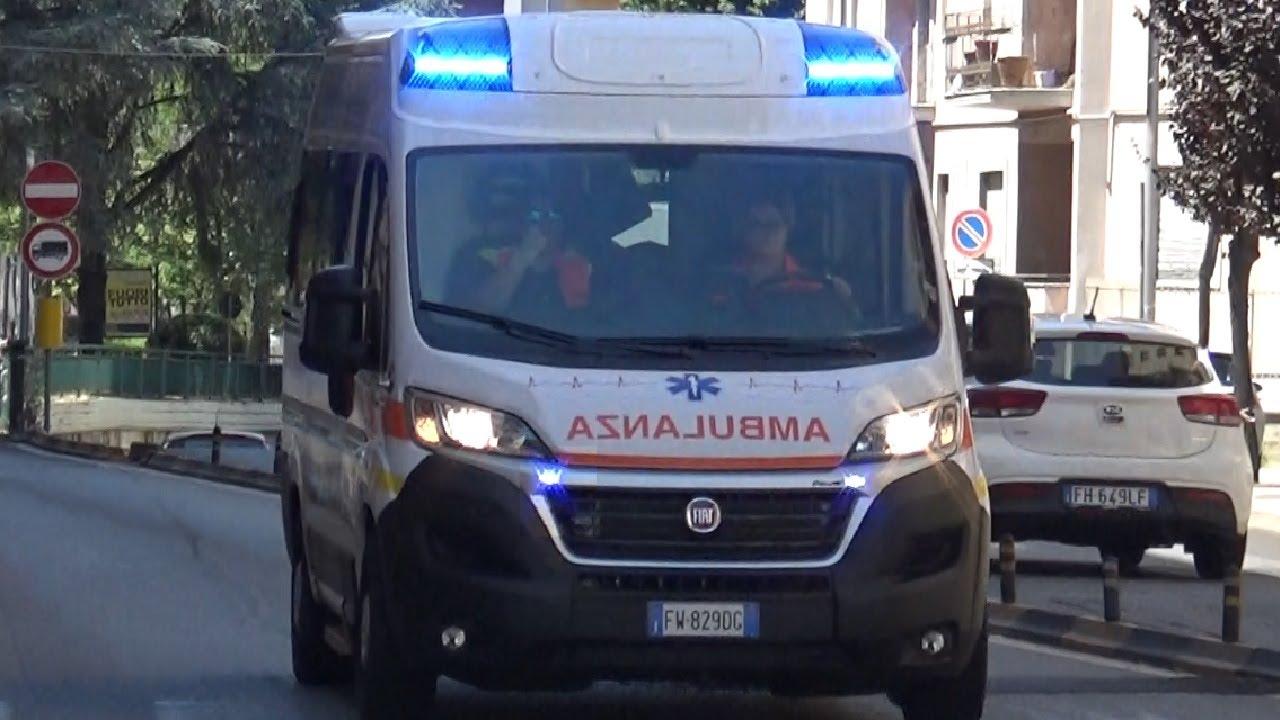 NEW(Servizio Sanitario/EMS)2X Ambulanza Montalto Soccorso in emergenza