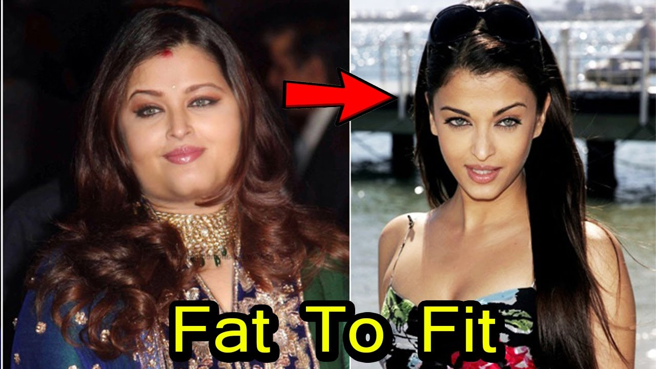 top 10 bollywood actress who went fat to fit | 2017 - youtube