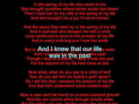 Bobby Goldsboro-Autumn of My Life (Karaoke-no vocals)