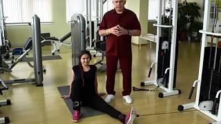 Уроки здоровья с доктором Бубновским. Программа 2.  Боли в коленях.