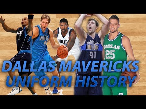 NBA Uniform History | Dallas Mavericks