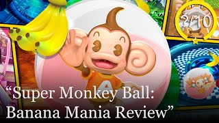 Super Monkey Ball: Banana Mania Review [PS5, PS4, Switch, Series X, Xbox One & PC] (Video Game Video Review)