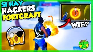 HOW ARE HACKERS IN CREATIVE DESTRUCTION!? | FORTCRAFT, COPY OF FORTNITE ANDROID ? Wolf Jz