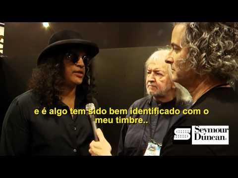 Evan Skopp de entrevistas Seymour Duncan Slash em ...