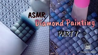 Asmr Diamond Painting Part 7 TikTok Compilation