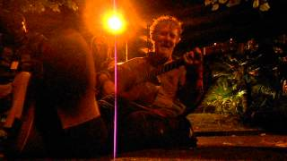 "Glen Hansard ""Moving on"" live at the parkbench, Switzerland"
