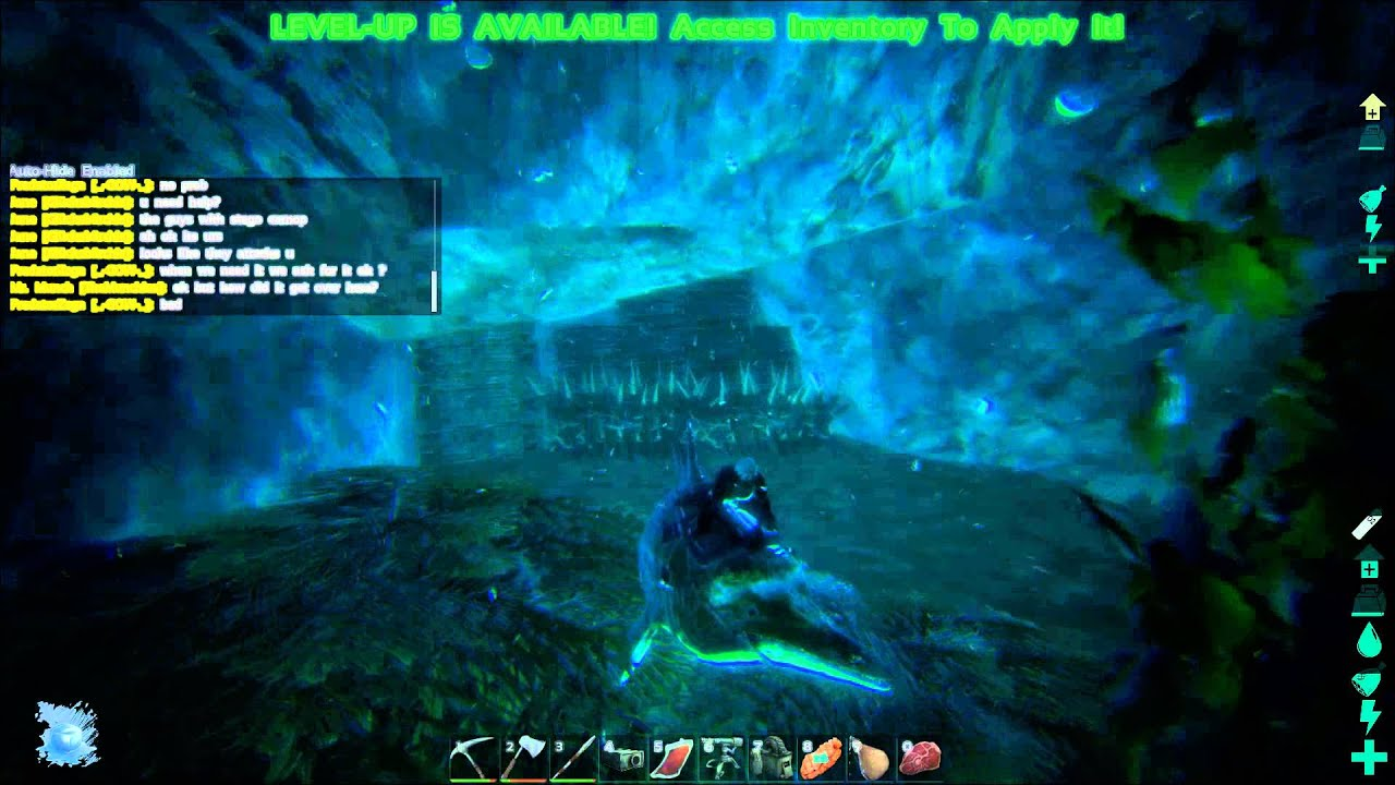 Ark Underwater Cave Locations