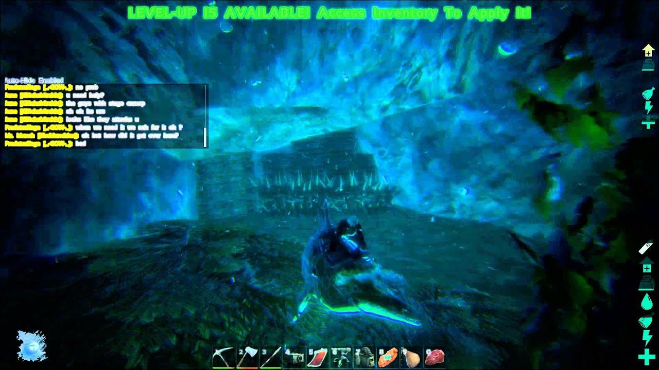 Ark Underwater Cave Locations