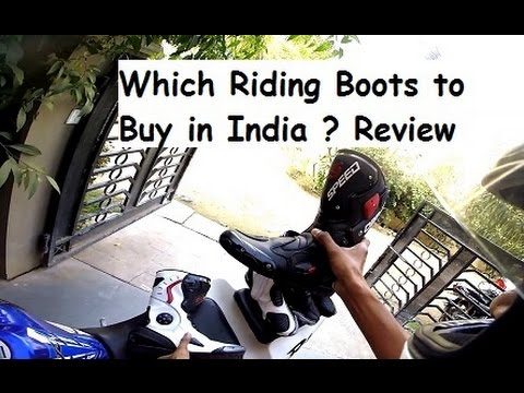 Cheap Riding Boots vs Race Spec Riding Boots in India- Review ...