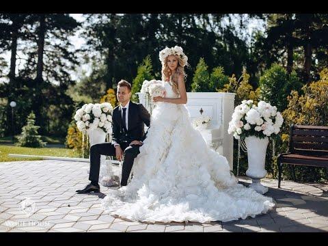 Роскошная свадьба Сергея и Елены