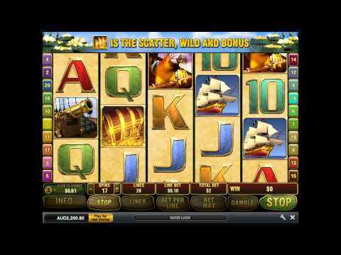 Captains Treasure Pro Slot Machine at Dafabet Casino