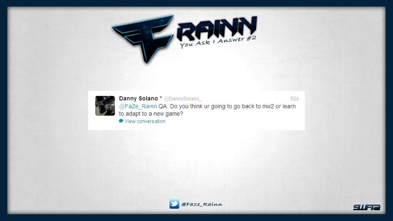 faze rain you ask i answer ep 2   youtube