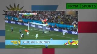 Uruguay 2 Inglaterra 1 - Mundial 2014 - Resumen - Relatos Sebastian Vignolo - TV Publica