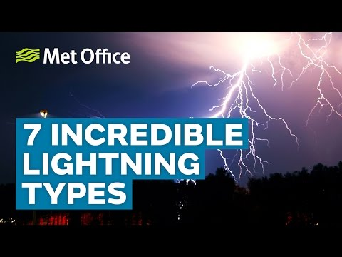 7 Incredible lightning types | Amazing Weather