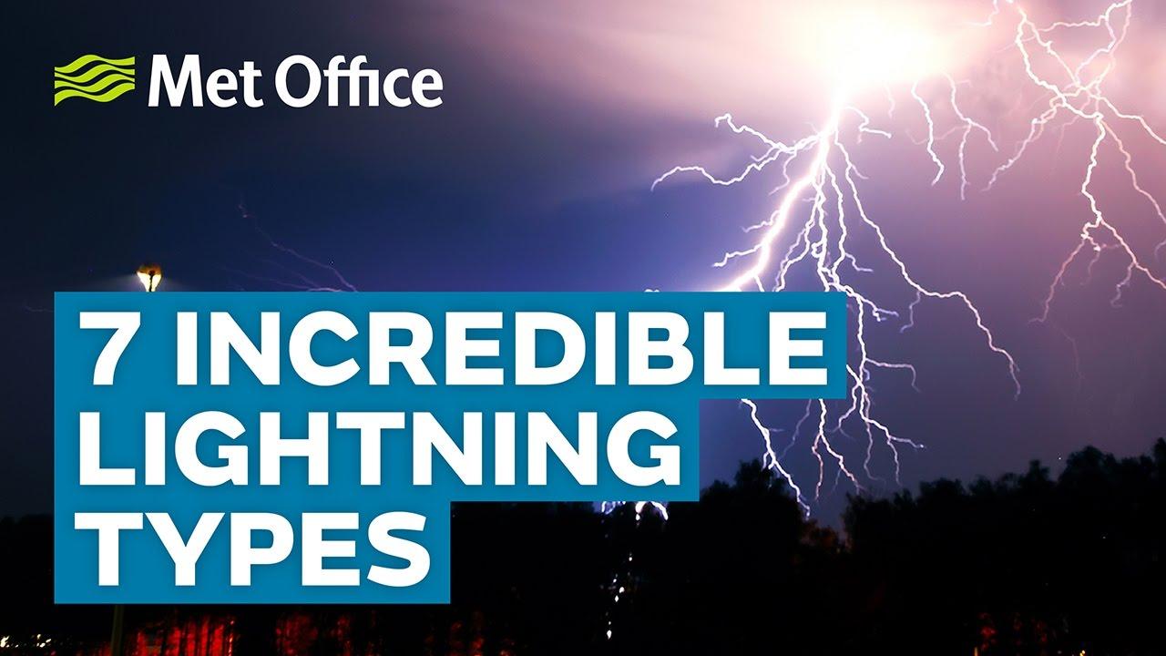 7 Incredible lightning types | Amazing Weather - YouTube