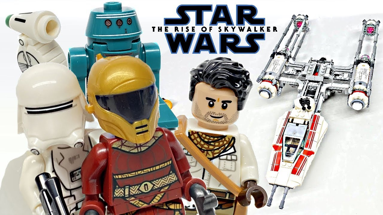 Lego Star Wars Resistance Y Wing Starfighter Review 2019 Set 75249 Youtube