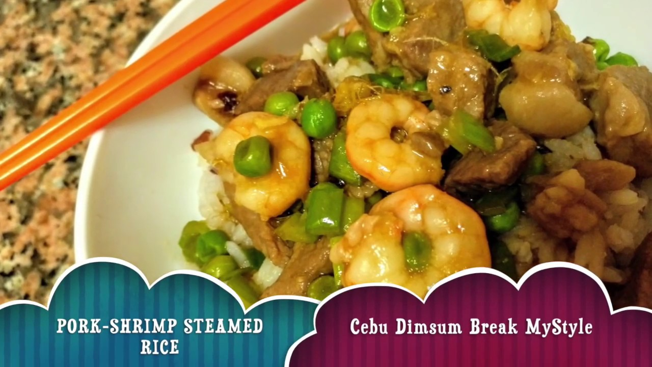 Dimsum: Pork and shrimp steamed rice recipe