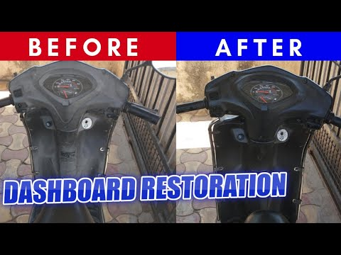 Activa Dashboard Restoring and Polishing