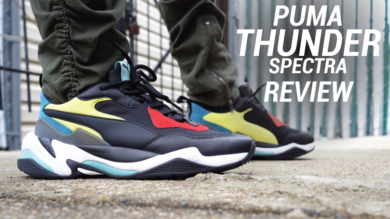 d28ca5470e3a PUMA THUNDER SPECTRA REVIEW - YouTube