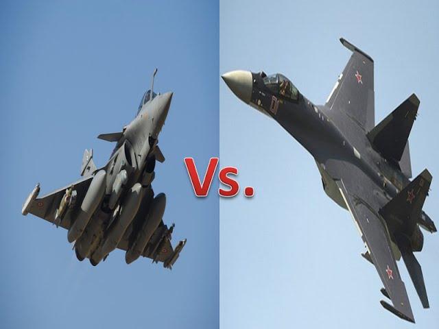 French Dassault Rafale Vs Russian Sukhoi Su-35