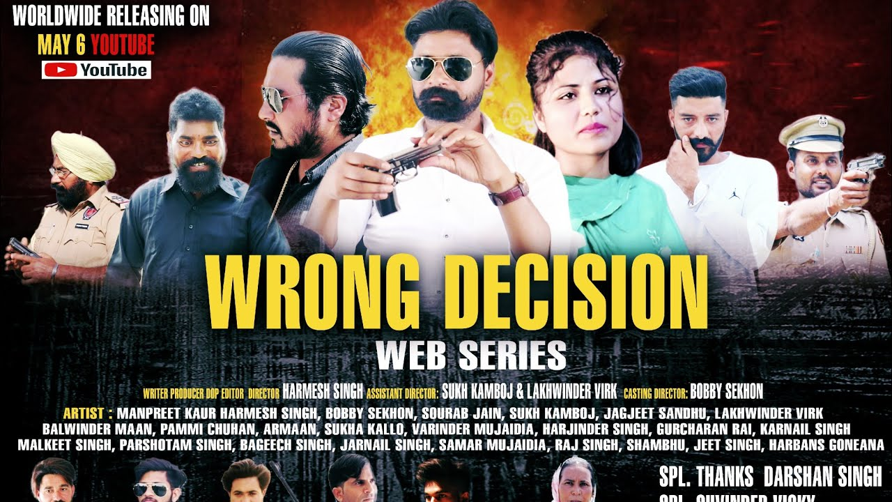 Download Action scenes in Web Series Wrong Decision | Latest Action Movie 2021| Crime | Latest Punjabi  Movie