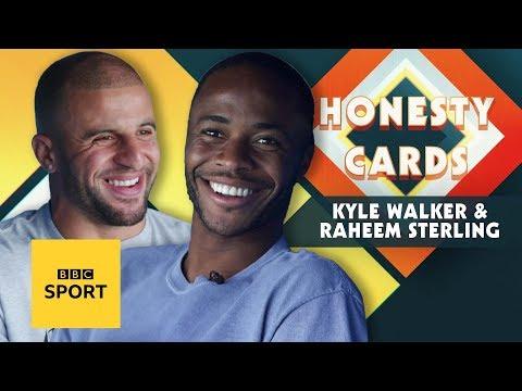 Kyle Walker's impression of Raheem Sterling is brilliant!