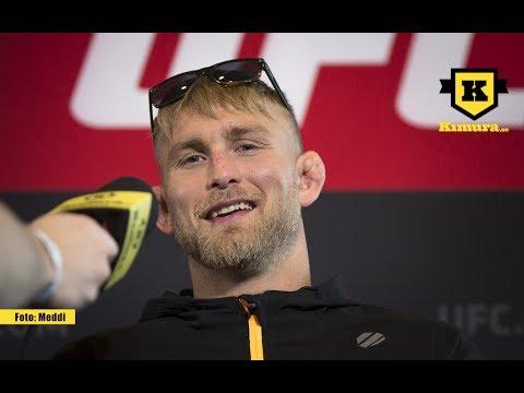 UFC Sverige: Alexander Gustafsson vill ha ett tidigt avslut mot Glover Teixeira