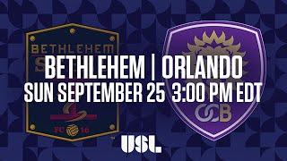 watch live bethlehem steel fc vs orlando city b 9 25 16