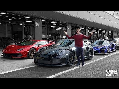 SENNA vs AVENTADOR SVJ vs GT2 RS – Silverstone Track Test!