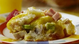 Brunch Recipe - How To Make Breakfast Strata