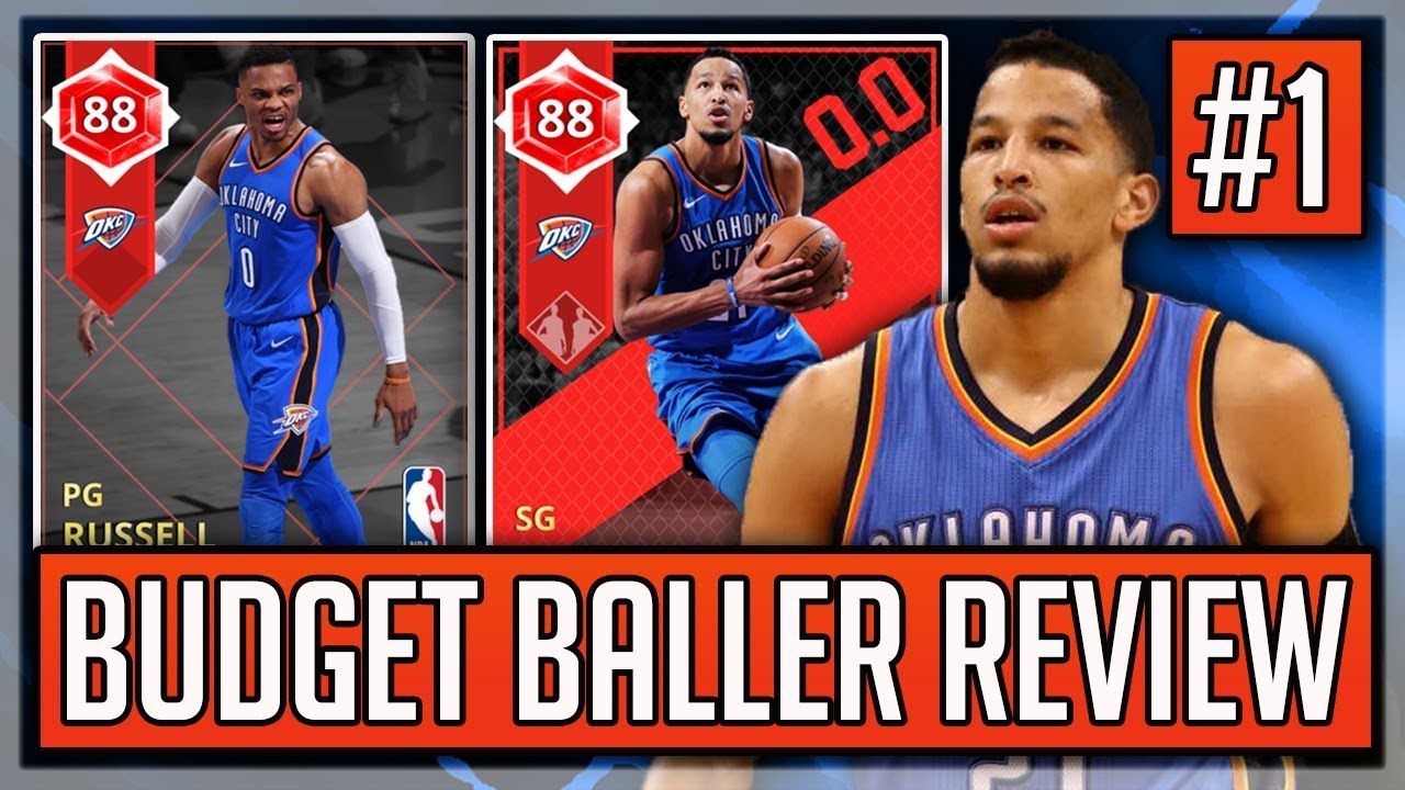 f4fcbcf6ac9 BUDGET BALLER REVIEW  1 - RUBY ANDRE ROBERSON DUO! PICKUP OR PASS  (NBA2K18  MYTEAM)