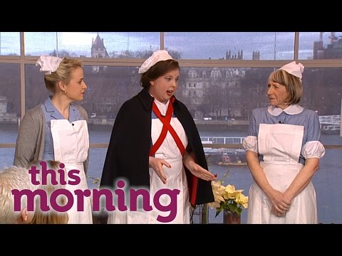 Helen George Plays Guess The Midwife  This Morning