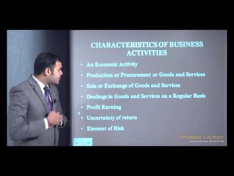 1st PUC Business Studies Chapter-1 : Nature and Purpose of Business