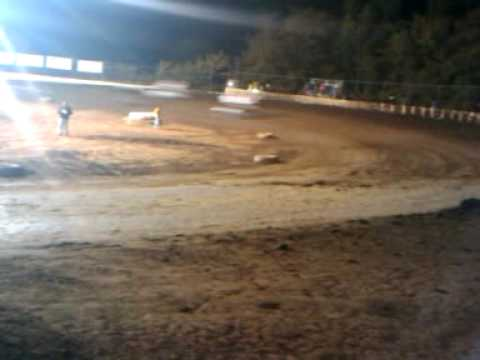 10/03/09 port city raceway  sprint cars.