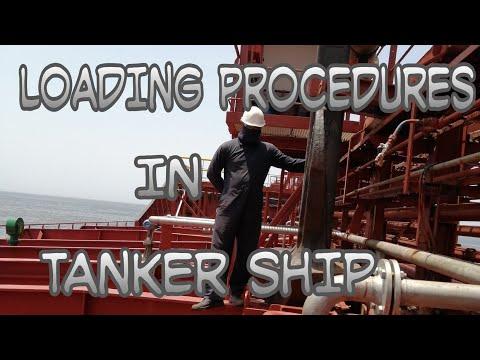 Loading procedures in Tanker Ship