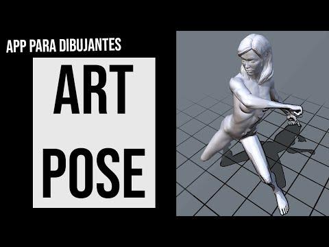 ¡Dibuja Cualquier pose con esta App: ART POSE!