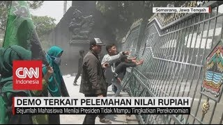 Download Video Rusuh! Demo Mahasiswa Menuntut Jokowi Lengser MP3 3GP MP4