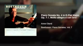 Piano Sonata No. 4 in E-Flat Major, Op. 7: I. Molto allegro e con brio