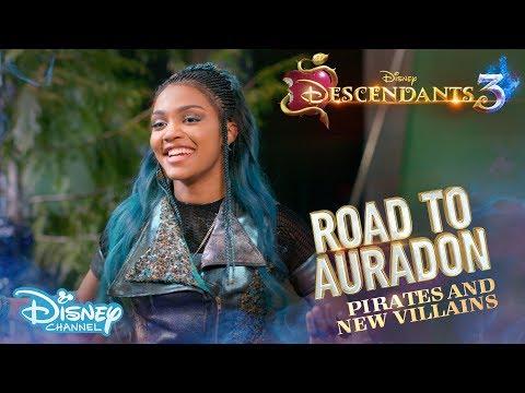 Descendants 3   BEHIND THE SCENES: Road To Auradon #7 - Pirates & Villains