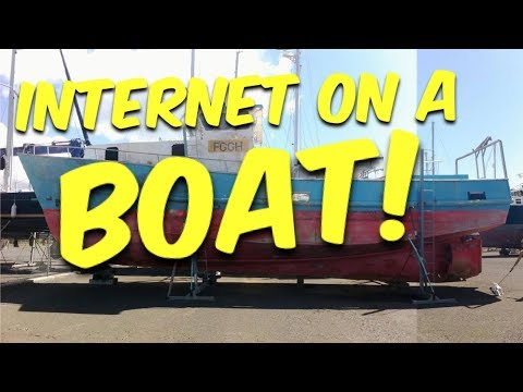 Internet & WIFI On A Boat - Building BRUPEG (Ep. 06)