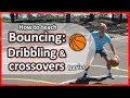#1. How to teach: Basic bouncing › Dribbling & cross-overs | Basketball skills in PE