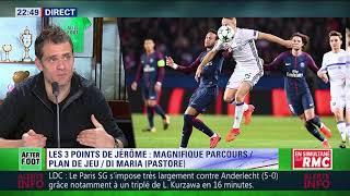 After Foot du mardi 31/10 – Partie 1/4 - Débrief de PSG/Anderlecht (5-0)