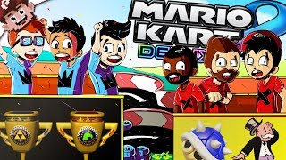 BLUE SHELLED into POVERTY! | The Rage is Real (Mario Kart 8 Deluxe w/ Friends)