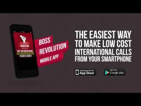 BOSS Revolution International Calling App