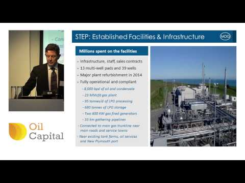 Mosman executives deliver investor presentation at Oil Capital event